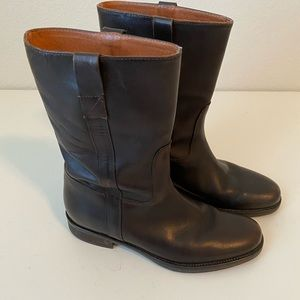 Jcrew Brewster Leather Boots
